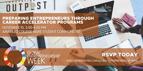 GEW - Preparing Entrepreneurs Through Career Accelerator Programs tickets