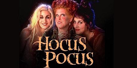 HOCUS POCUS (1993) - Miercoles 27/10 - 21:00hs - CINE AL AIRE LIBRE entradas