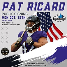 Public Signing: Pat Ricard tickets