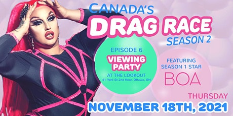 Meet & Greet Only - BOA (Canada's Drag Race) - @ The Lookout tickets