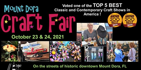 Mount Dora Craft Fair 2021 tickets