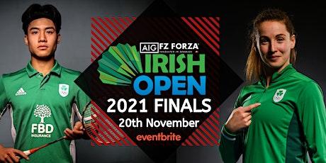 AIG FZ Forza Irish Open Finals 2021 - Finals Day tickets