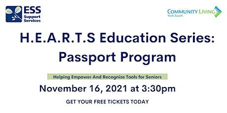 H.E.A.R.T.S Education Series: November Passport Program tickets