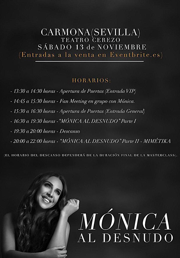 """Imagen de MÓNICA NARANJO - """"MÓNICA AL DESNUDO"""" - CARMONA (Sevilla)"""