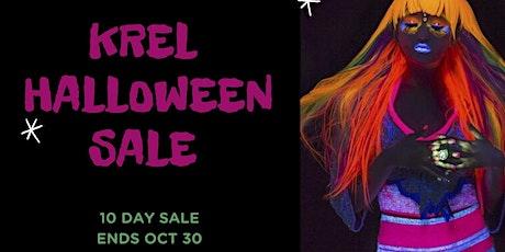 Halloween  Sale & Party at KREL Tropical Knitwear tickets