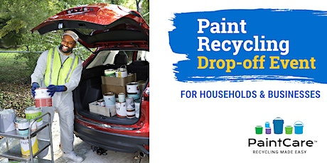 Paint Drop-Off Event - SCAQMD Parking Lot tickets