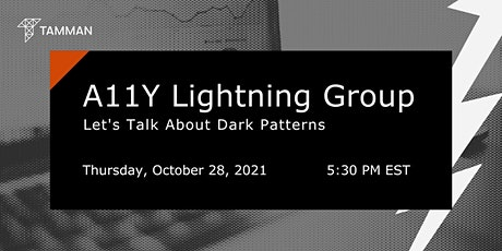 A11y Lightning Group Series (October 2021) tickets