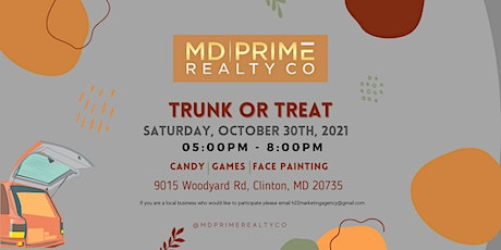 MD Prime Trunk Or Treat tickets