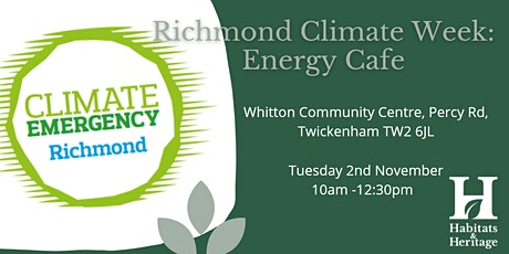 Richmond Climate Week: Energy Cafe tickets