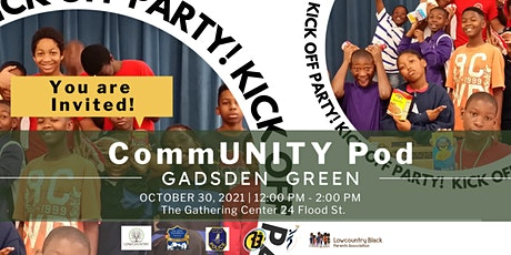 CommUNITY Pod Kick Off Party! tickets
