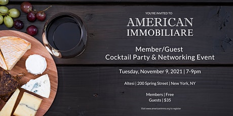 Member/Guest Cocktail Party & Networking Event tickets