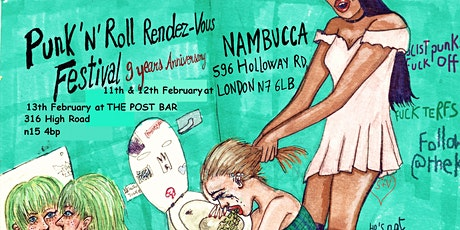 Punk n Roll Rendezvous festival - Saturday tickets tickets