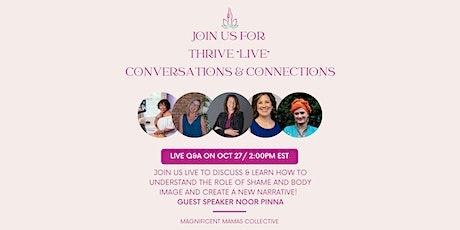 Thrive Live Community & Connections tickets