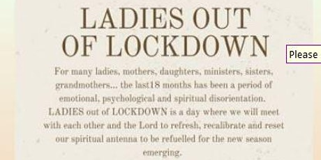 LADIES out of LOCKDOWN tickets
