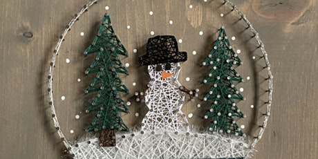 Christmas String Art Workshop tickets
