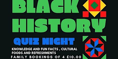BHM Family Fun Facts and Knowledge Quiz Evening tickets