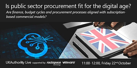 UKA Live: Is public sector procurement fit for the digital age? tickets