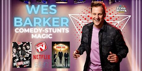 Wes Barker - As Seen on Netflix, AGT and Ellen tickets