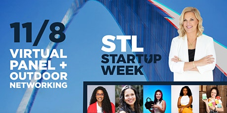 Virtual & In-Person // Female Founder Panel & Networking: Build + Grow tickets