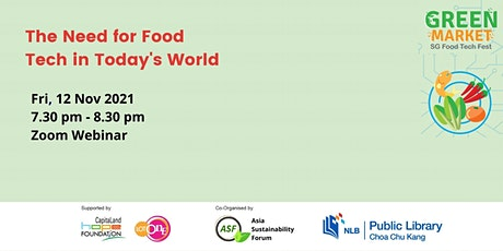 [Green Market] The Need for Food Tech in Today's World tickets