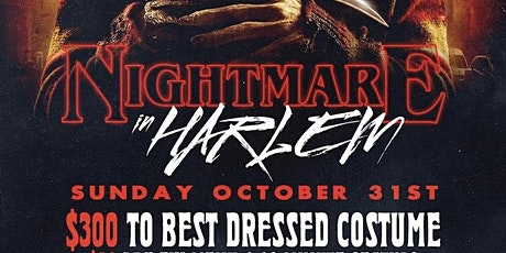 """Halloween NYC: """"Nightmare In Harlem"""" Brunch & Day Party tickets"""