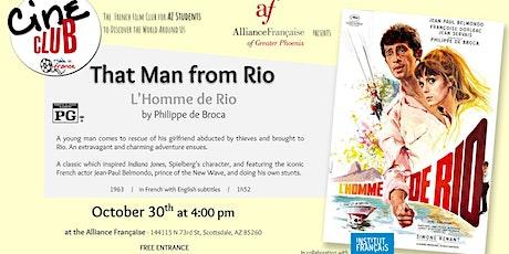 "Ciné-Club ""That Man From Rio"" - Screening + talk tickets"