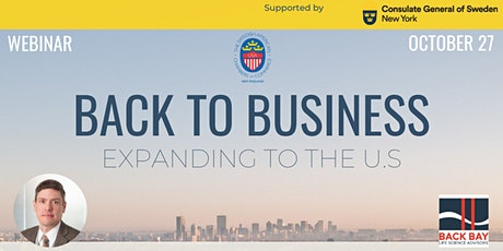 Back to Business: Expanding to the U.S tickets