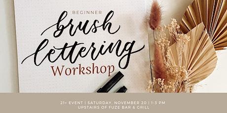 Brush Lettering Workshop tickets