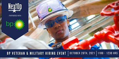 bp Military and Veteran Hiring Event tickets