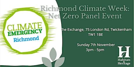 Richmond Climate Week: Net Zero Panel Talk tickets