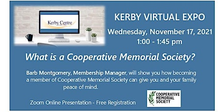 Kerby Virtual Expo - What Is A Cooperative Memorial Society ? tickets