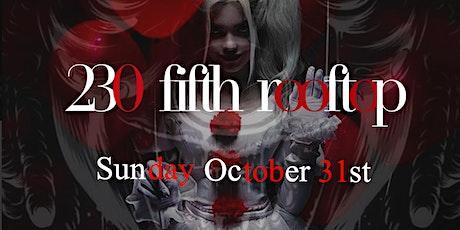 Devil's Heaven Halloween Party @ 230 Fifth Rooftop Empire Room tickets