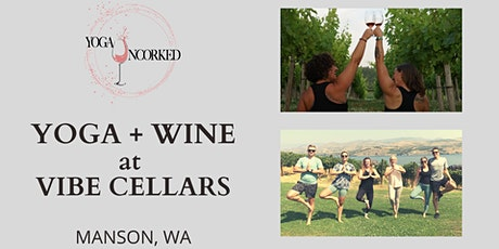 Yoga + Wine at Vibe Cellars tickets