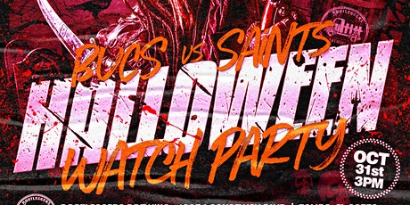 Loose Cannons Halloween Bucs vs Saints Watch Party tickets