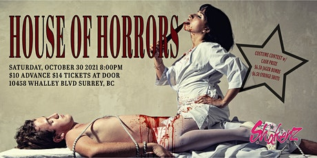 Halloween 2021: House of Horrors (19+) tickets