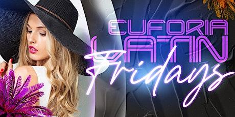 Latin Fridays Night - Euforia at QC Social Lounge   Ladies Free All Night tickets