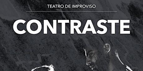 CONTRASTE - Teatro de Improviso bilhetes