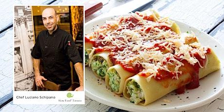 Villa Cucina: Cannelloni: Carne e spinaci tickets