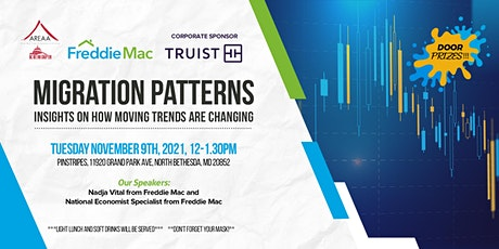 Migration Patterns - Insights on Changing Moving Trends tickets