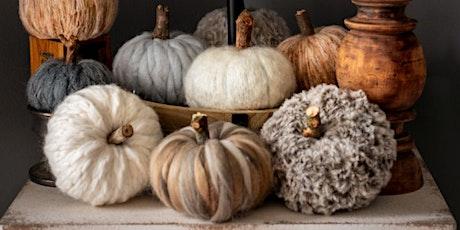 DIY Yarn Pumpkins - Perfect Fall Craft tickets
