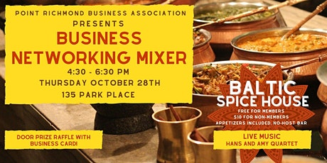 Point Richmond Business Association Networking Mixer tickets