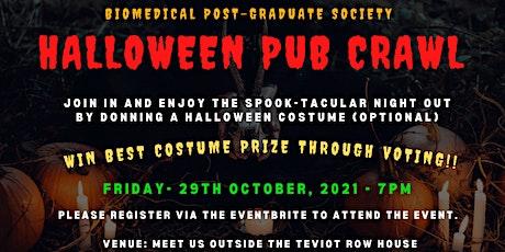 Halloween pub crawl tickets