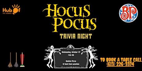 Hocus Pocus Trivia Night - Boston Pizza Napean tickets