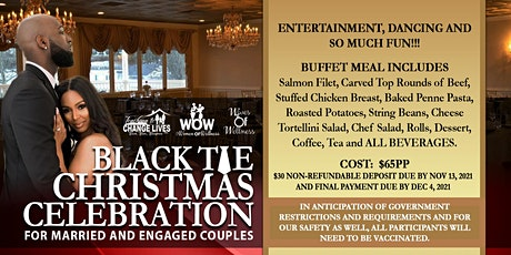 Married and Engaged Couples Black Tie Christmas Celebration tickets