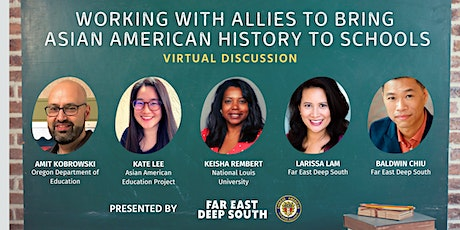 Working with Allies to Bring Asian American History to Schools tickets