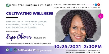 Cultivating Wellness tickets