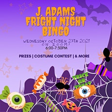 J. Adams FRIGHT NIGHT BINGO tickets