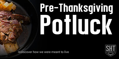 Pre-Thanksgiving Potluck (for simple dishes) tickets