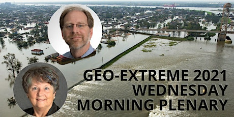 Geo-Extreme Wednesday AM plenary - Dave Applegate and Susan Cutter tickets