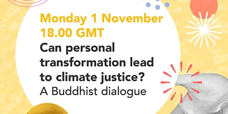 Can personal transformation lead to climate justice? tickets